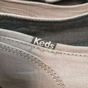 Keds Shoes - Keds Lace Up and Glitter Toe Sneakers